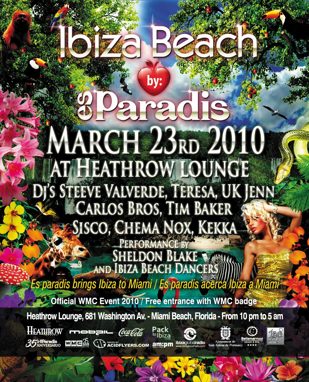ibiza beach @ WMC 2010